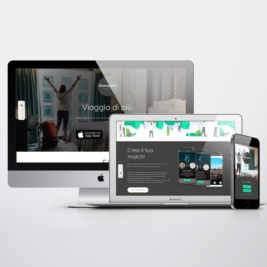 UX/UI Design per Cherrypicktravel