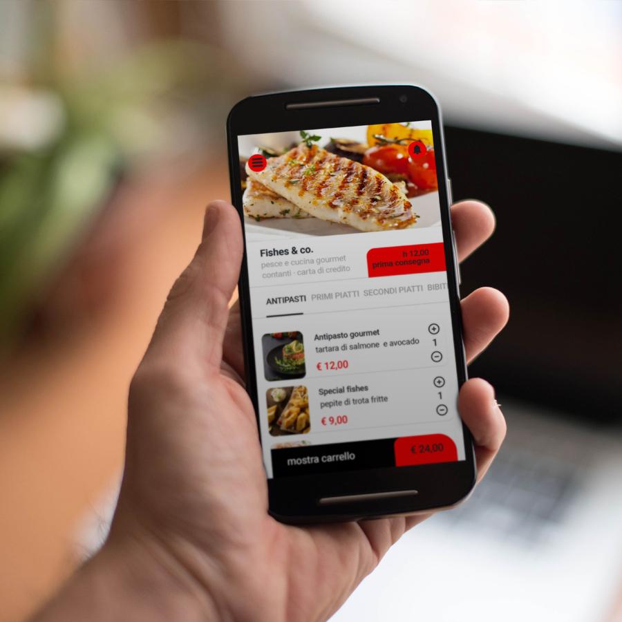 UX/UI Design per Foodtinni